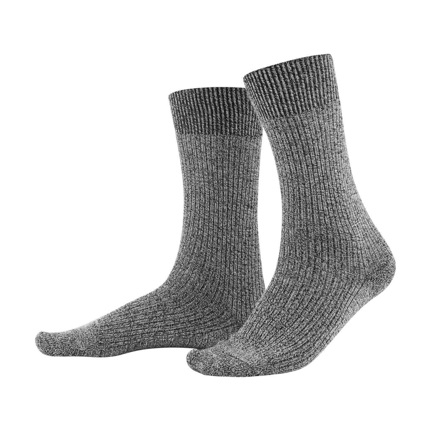 il più votato a buon mercato scarpe temperamento vari stili Calzini uomo melange, 98% cotone bio, 2% elastane, GOTS, vegani