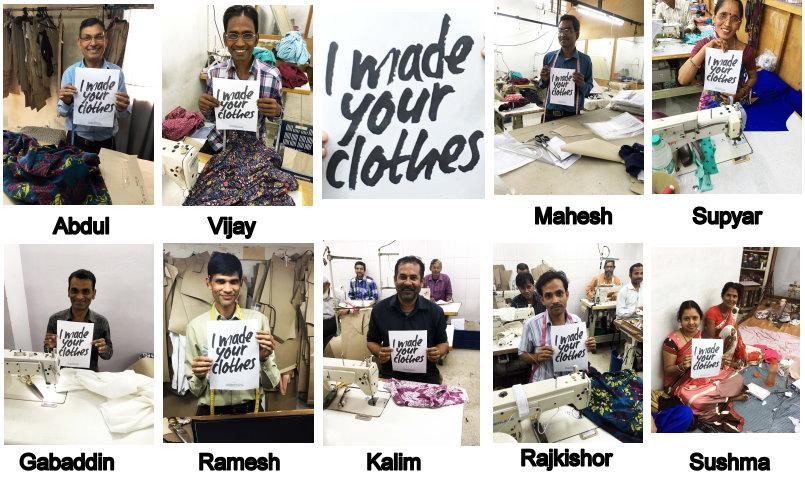 """""""Abdul è il sarto modellista in una delle nostre fabbriche di Delhi e ha il compito molto tecnico e qualificato di fare i cartamodelli per i nostri disegni prima che il tessuto possa essere tagliato e cucito per fare gli indumenti. Ha 30 anni di esperienza (25 nella nostra fabbrica); lavoriamo a stretto contatto con lui e ci fidiamo della sua esperienza per garantire che i nostri capi abbiano una buona vestibilità. Abita a Delhi, ha cinque figli - tre ragazzi e due ragazze - e ama trascorrere del tempo con tutta la famiglia la domenica.  Vijay lavora con noi come sarto a Jaipur da oltre cinque anni e vive a soli 15 minuti dalla fabbrica. Ha tre figli e ama guardare i film hindi nel suo tempo libero; il suo attore preferito è Amitabh Bachchan. Mahesh ha 46 anni, è un sarto modellista fantastico. Lavora con noi a Jaipur da oltre sette anni. Ha cinque figli tra i 14 ei 25 anni e adora uscire con i propri figli durante il fine settimana.  Supyar è una sarta che lavora insieme a noi da più di cinque anni. Ha un figlio e ha imparato a cucire da autodidatta a casa sua a Jaipur, modificando camicette e riparando indumenti. Un suo buon amico le ha suggerito di entrare nell'attività di sartoria. Questo è un grande successo per Supyar, visto che, in India, è considerato un ruolo altamente qualificato prevalentemente maschile. Gabaddin ha 36 anni e ha vissuto a Jaipur per 20 anni. È un grande sarto, oltre ad essere una persona molto utile da conoscere - i suoi amici dicono che è l'uomo da cui andare se hai bisogno di aiuto su qualsiasi cosa.  Ramesh è il sarto modellista in un'altra delle nostre fabbriche. Ha due figli, Ashish e Nitu, con la moglie Lali. Vive e lavora a Delhi e lavora con noi da quasi tre anni.  Kalim ha 50 anni ed è un membro relativamente nuovo della squadra: ha iniziato a partecipare a novembre ed è già un sarto chiave per noi a Delhi. Ha due figli adolescenti con sua moglie Samrun ed è vicino alla madre Zulekha.  Rajkishor è un nuovo membro della nostra squ"""