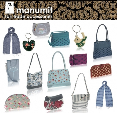 Manumit: borse e accessori in tessuti naturali