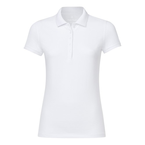 Polo donna in piquet  100% cotone biologico fairtrade e GOTS