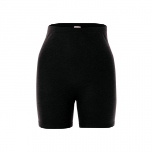Shorts donna 70% lana vergine biologica, 30% seta
