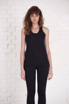 "Top in pizzo ""Ballet top"""