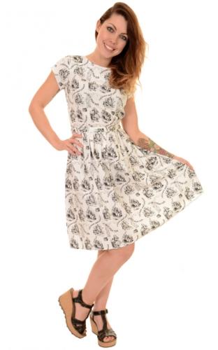 9a5bbdd6b4cc Vestito Alice nel paese delle meraviglie Alice in wonderland retro dress
