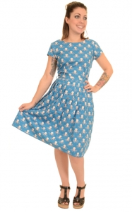 Vestito con piovre  100% cotone  Under the sea octopus dress